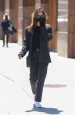 EMILY RATAJKOWSKI Out and About in New York 04/27/2021