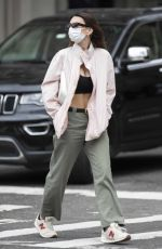 EMILY RATAJKOWSKI Out with a Friend in New York 04/09/2021