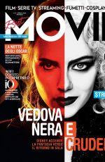 EMMA STONE and SCARLETT JOHANSSON in Best Movie Magazine, April 2021