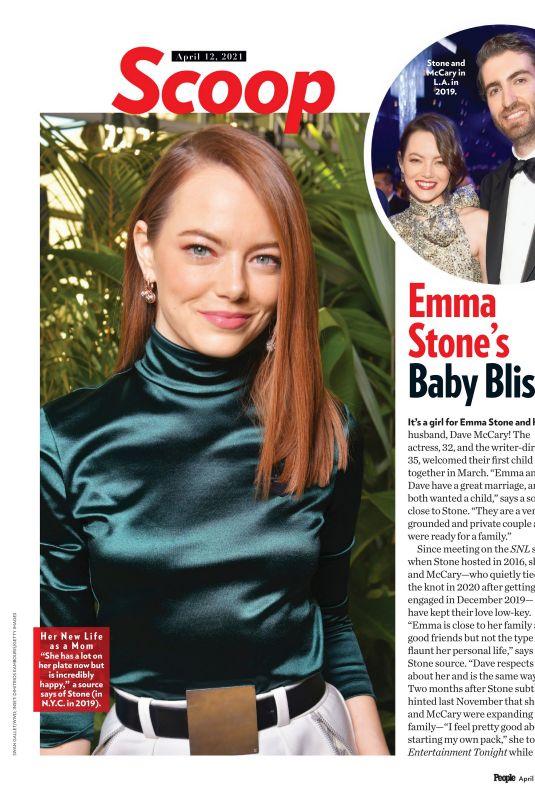 EMMA STONE in People Magazine, Beautiful Issue 2021