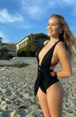 FAITH SCHRODER in Swimsuit at a Beach - Instagram photos 04/11/2021