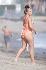 FLORENCE PUGH in Swimsuit at a Beach in Malibu 04/07/2021