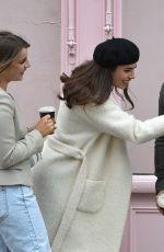 FRANCESCA ALLEN and MARIA WILD at New Beauty Salon Deja Vu in London 04/12/2021