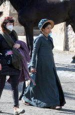 FREIDA PINTO at a Movie Set in Dublin 04/03/2021