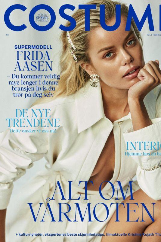 FRIDA AASEN for Costume Magazine, Norway February?March 2021