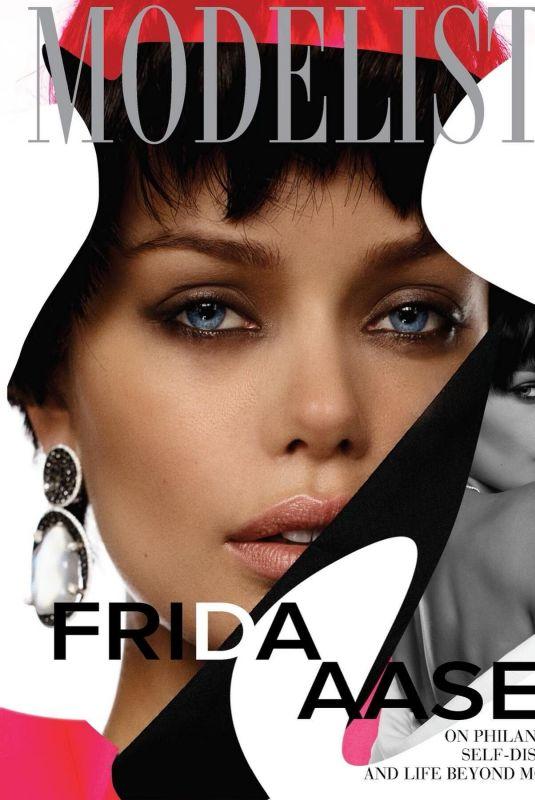FRIDA AASEN in Modeliste Magazine, March 2021