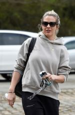 GEMMA ATKINSON Arrives at Hits Radio in Manchester 04/01/2021