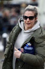 GEMMA ATKINSON Leaves Hits Radio in Manchester 04/16/2021