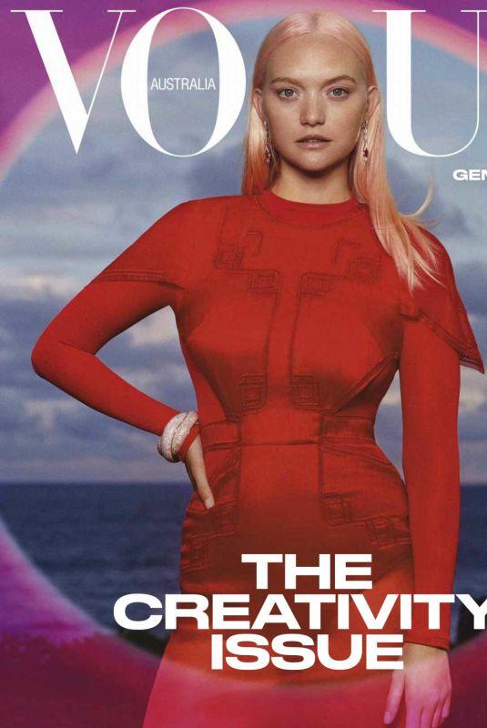 GEMMA WARD in Vogue Magazine, Australia March 2021