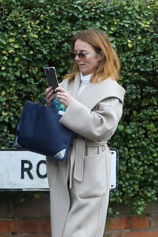 GERI HALLIWELL Out in London 03/31/2021