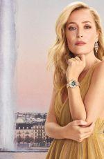 GILLIAN ANDERSON for Vanity Fair, On Time, Geneva issue, Spring 2021