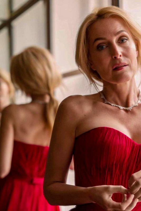GILLIAN ANDERSON – Screen Actors Guild Awards 2021 Photoshoot 04/04/2021