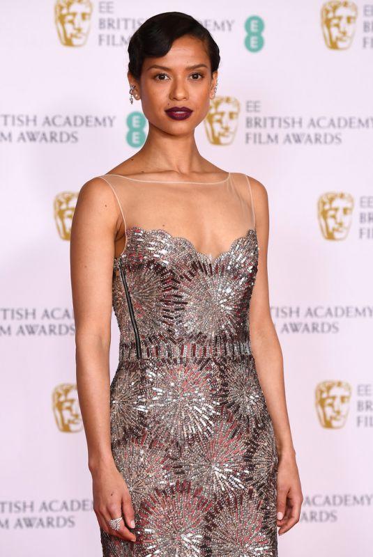 GUGU MBATHA-RAW at EE British Academy Film Awards in London 04/11/2021