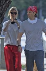 GWYNETH PALTROW Out in Brentwood 04/18/2021