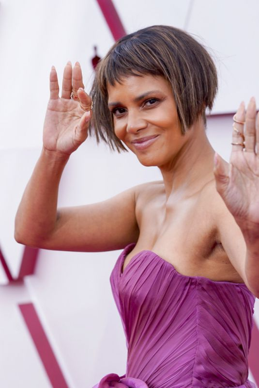 HALLE BERRY at 93rd Annual Academy Awards in Los Angeles 04/25/2021