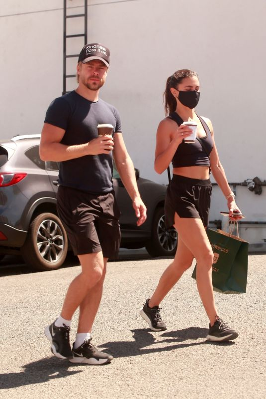 HAYLEY ERBERT Heading to a Gym in Studio City 04/03/2021
