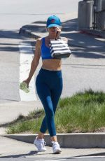 HAYLEY ROBERTS in Tights Out in Calabasas 04/08/2021