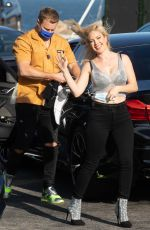 HEIDI MONTAG and Spencer Pratt Out Kissing in Malibu 04/26/2021
