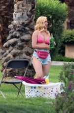 HEIDI MONTAG on the Set of The Hills: New Beginnings in La Quinta 04/14/2021
