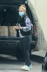 HEIDI MONTAG Out in Pacific Palisades 04/24/2021