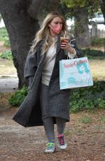 HILARY DUFF Out and About in Studio City 04/21/2021