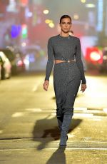 IRINA SHAYK at Michael Kors Fashion Show in New York 04/08/2021