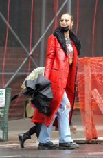 IRINA SHAYK Out for Lunch in New York 04/11/2021
