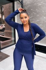 JACQQUELINE JOSSA for Activewear Collection with In The Style, April 2021