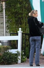 JAIME KING Leaves San Vicente Bungalows in West Hollywood 04/15/2021