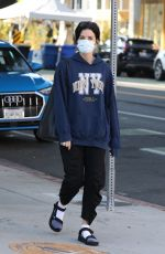 JAIMIE ALEXANDER Out in Santa Monica 04/02/2021