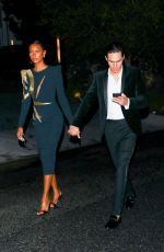 JASMINE TOOKES Leaves an Oscars Party in Bel Air 04/25/2021