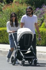 JENNA DEWAN and Steve Kazee Out in Los Angeles 04/15/2021