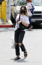JENNA DEWAN Out and About in Los Angeles 04/24/2021