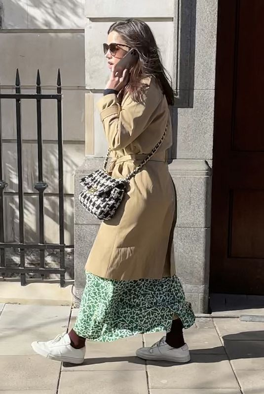 JENNA LOUISE COLEMAN Out and About in London 03/09/2021