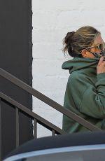 JENNIFER ANISTON Leaves a Skincare Salon in Beverly Hills 04/29/2021
