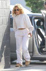 JENNIFER LOPEZ Heading to a Studio in Los Angeles 04/25/2021