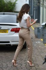 JESS IMPIAZZI Filming for House of Influence in London 04/11/2021