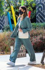 JESSICA ALBA Leaves The Honest Company in Playa Vista 04/06/2021