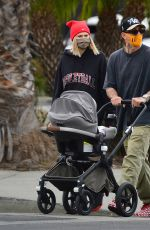 JESSICA HART Out with Family in Los Angeles 04/22/2021