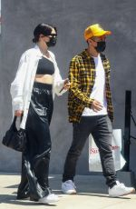 JESSIE J and Max Pham Nguyen at Crossroads Kitchen in West Hollywood 04/10/2021