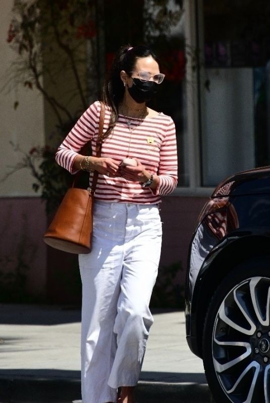 JORDANA BREWSTER Out and About in Santa Monica 04/11/2021