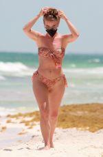 JULIANNE HOUGH in Bikini at a Beach in Tulum 04/28/2021