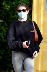 KAIA GERBER Arrives at Pilates Class in West Hollywood 04/06/2021