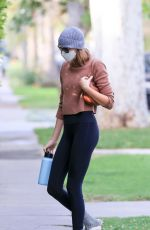 KAIA GERBER Heading to a Gym in West Hollywood 04/14/2021
