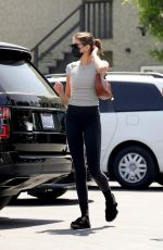 KAIA GERBER Out for Lunch in West Hollywood 04/03/2021