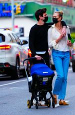 KARLIE KLOSS and Joshua Kushner Out in New York 04/10/2021