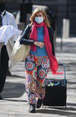 KATE GARRAWAY Arrives at Global Studios in London 04/23/2021