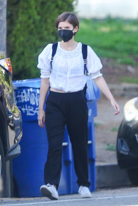 KATE MARA Out in Los Angeles 04/08/2021