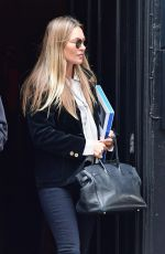 KATE MOSS Out and About in London 04/22/2021