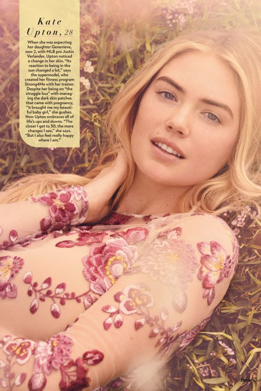 KATE UPTON in People Magazine, Beautiful Issue 2021, April 2021
